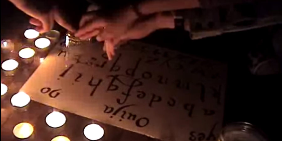 This Unedited Footage Of A Demonic Posession During A Ouija Board Session Is Terrifying