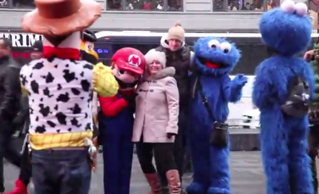 The Furry Costumed People Of Times Square Reveal Their Life Aspirations While Hustling The Streets OfNYC