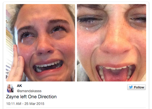 33 Hilarious Fan Reactions To Zayn's One Direction Departure