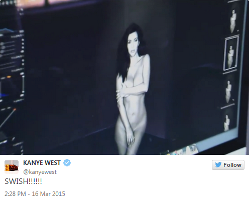 These Kanye West Nudie Tweets Of Kim Are The Celebrity Equivalent Of Showing All Your Friends Naked Pics Of YourGF
