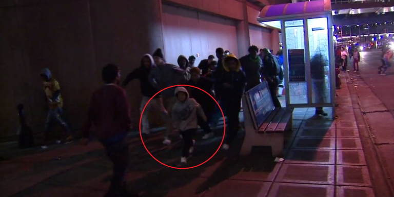 Let's Talk About This Actual Child Rioting In Downtown Minneapolis On St. Patty'sDay