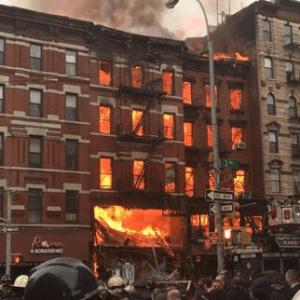 Huge Explosion Rocks New York's East Village