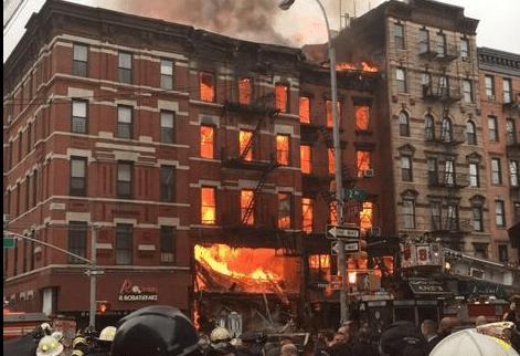 Huge Explosion Rocks New York's EastVillage