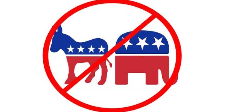Why I Don't Want To Belong To A PoliticalParty