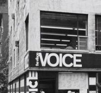 1974 Village Voice office 2nd floor