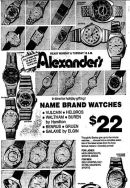 alexander's ad watches