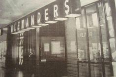 Alexander's entrance B&W
