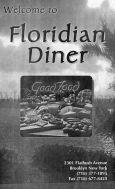 Floridian diner menu
