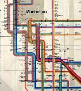 manhattan subwary map