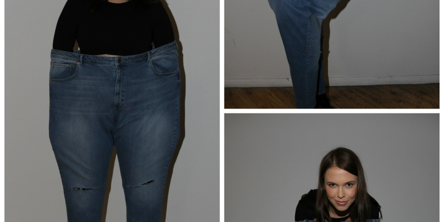 An Average-Sized Girl Tries On A Supermodel's Jeans (But It's Totally Not What YouThink)