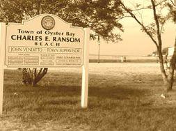 Ransom Beach sign