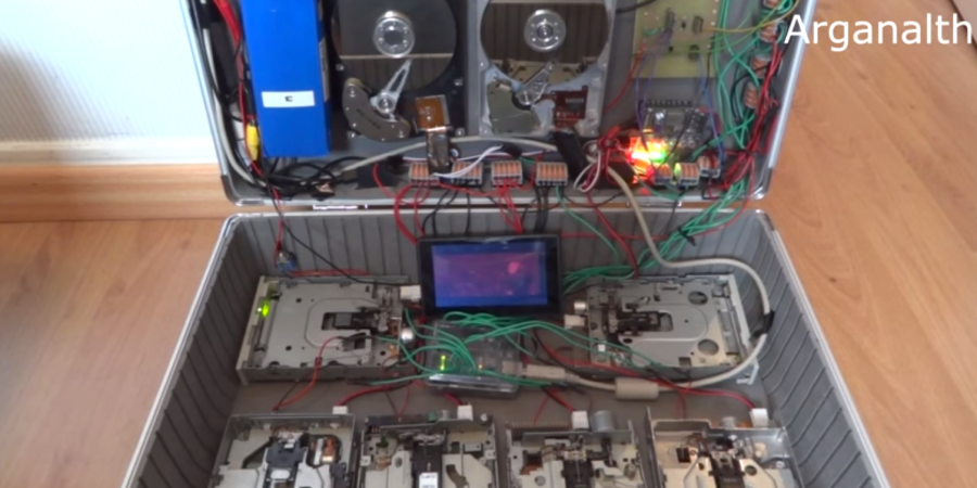 This Guy Managed To Get Computer Hardware To Play Nirvana's 'Smells Like Teen Spirit'