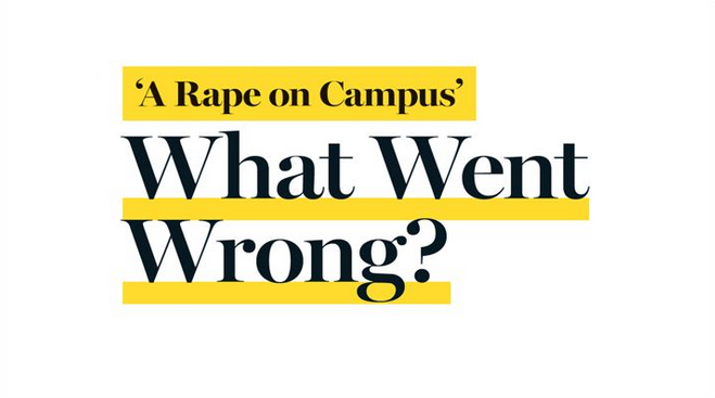 Why The UVA Rolling Stone ScandalMatters