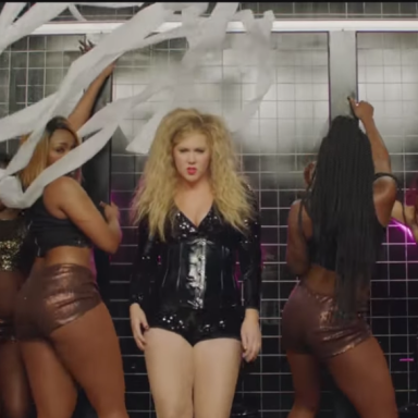 Amy Schumer Questions Pop Culture's Obsession With Big Butts With Her Hilarious New Music Video, 'Milk, Milk, Lemonade'