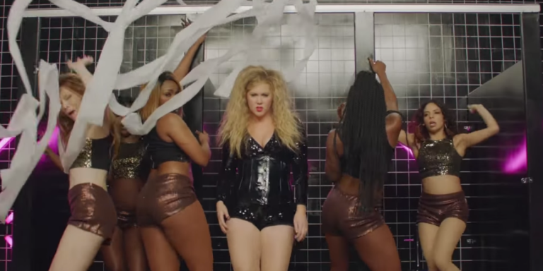 Amy Schumer Questions Pop Culture's Obsession With Big Butts With Her Hilarious New Music Video, 'Milk, Milk,Lemonade'
