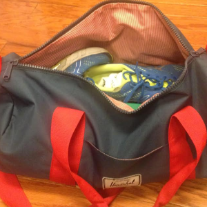 Everything In My Gym Bag, In Dr. Seuss Rhyme
