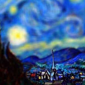 Applying Tilt Shift To Van Gogh's Paintings Makes For Some Incredible Results