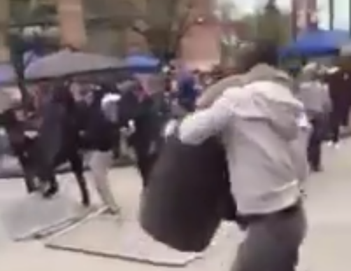 Shocking Video Of Random Attacks In Baltimore Show Bottles Thrown At Disabled Woman, ReporterRobbed