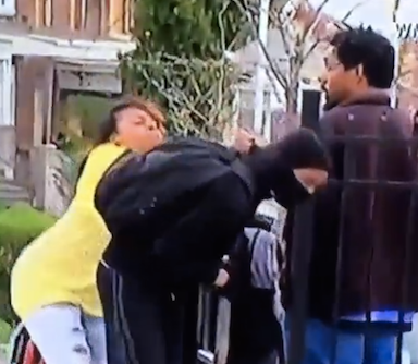 Mother Catches Her Teen Son Rioting, Slaps The Taste Out Of His Mouth
