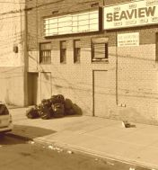 Seaview Theater behind