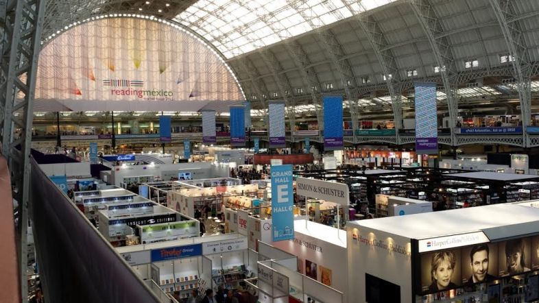 London Book Fair at Olympia London. Image: Porter Anderson.