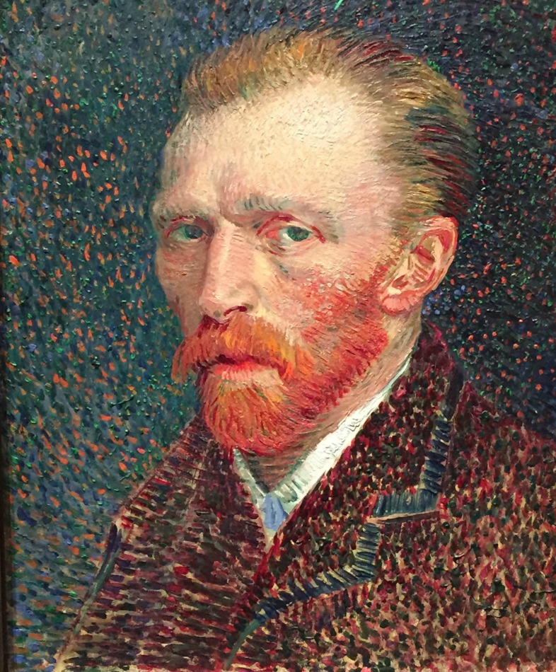 Kovie Biakolo / The Art Institute of Chicago - Vincent can Gogh, Self Portrait, 1887