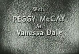with Peggy McKay as Vanessa Dale