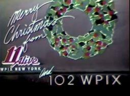 wpix yule log xmas greeting