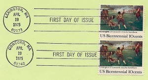 1975 stamp the British are coming