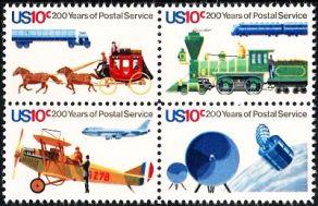 bicentennial of postal service