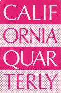 California Quarterly cover