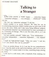 California Quarterly Talking to a Stranger opening
