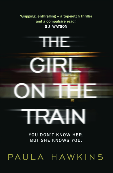 Book Cover Handout of The Girl On The Train by Paula Hawkins, published by Doubleday. See PA Feature BOOK Book Reviews. Picture credit should read: PA Photo/Doubleday. WARNING: This picture must only be used to accompany PA Feature BOOK Book Reviews.