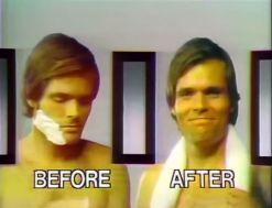 gillette TV commercial 1975