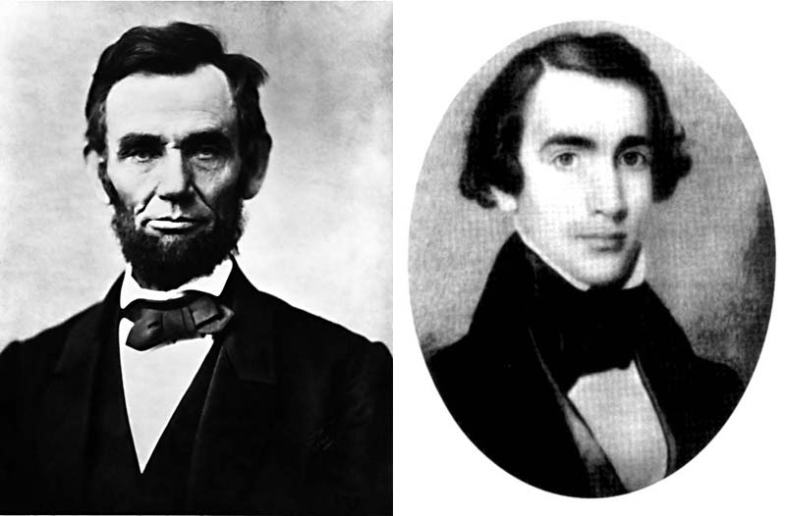 Abraham Lincoln and Joshua Fry Speed. (Wikimedia Commons)