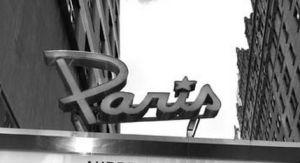 paris theater marquee