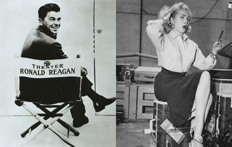 Ronald Reagan and Selene Walters (Wikimedia Commons)