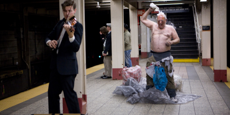 The Voice Of The NYC Subway System Gets Real, GoesDeep