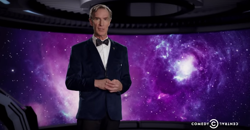 Watch Bill Nye Explain Why The Universe Was Created Solely For White Girls