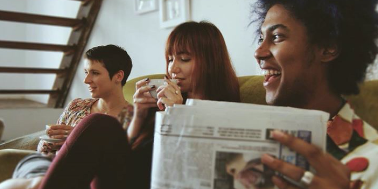 16 Things That Happen When You're A Quiet Person Around New People (But A Total Spaz Around YourFriends)