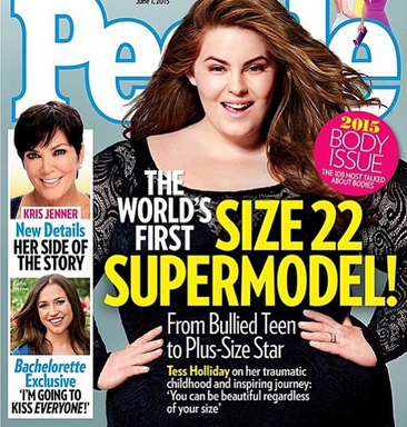 Why Does Tess Holliday, The Size 22 Model, Make Us Uncomfortable?