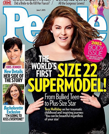 Why Does Tess Holliday, The Size 22 Model, Make UsUncomfortable?