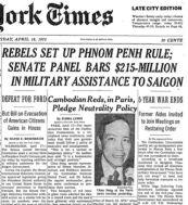 vietnam april 18 rebels rule cambodia