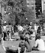 1974 columbia sitting on grass