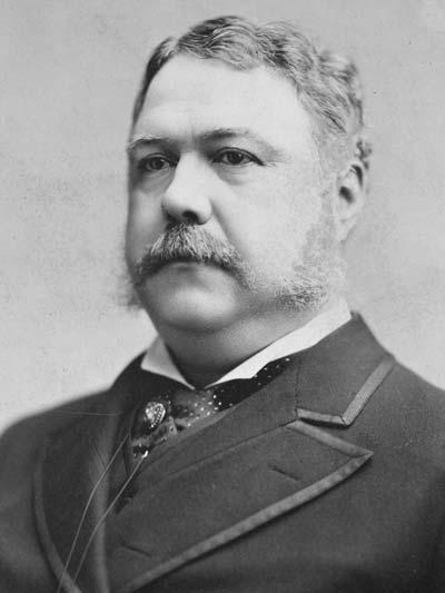 Chester A. Arthur /// (Wikipedia)