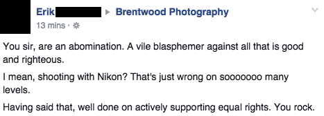 Facebook / Brentwood Photography