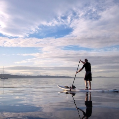 So You Want To Learn To Surf On An SUP?