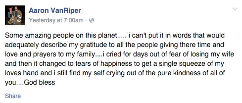 Facebook / Aaron VanRiper