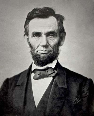 Abraham Lincoln /// (Wikipedia)