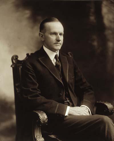 Calvin Coolidge /// (Wikipedia)